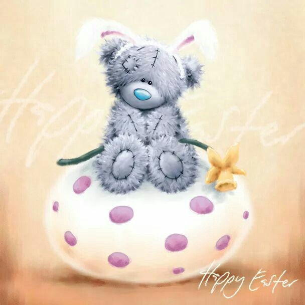 ❤Happy Easter ~ Me to You Bears