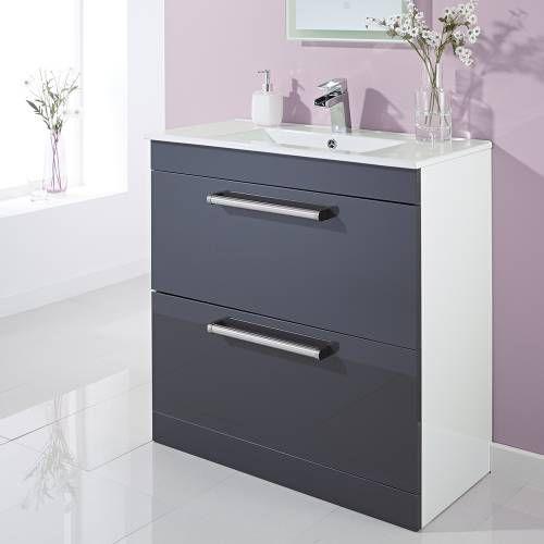 Die besten 17 ideen zu meuble sous lavabo auf pinterest meuble sous evier - Meuble sous lavabo gris ...