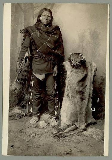 Domingo - Mescalero Apache - circa 1885 but no location