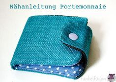 Sewing instructions – Sewing a simple wallet> Instructions, Do it yourself> Freebook, free sewing instructions, sewing instructions, sewing for beginners