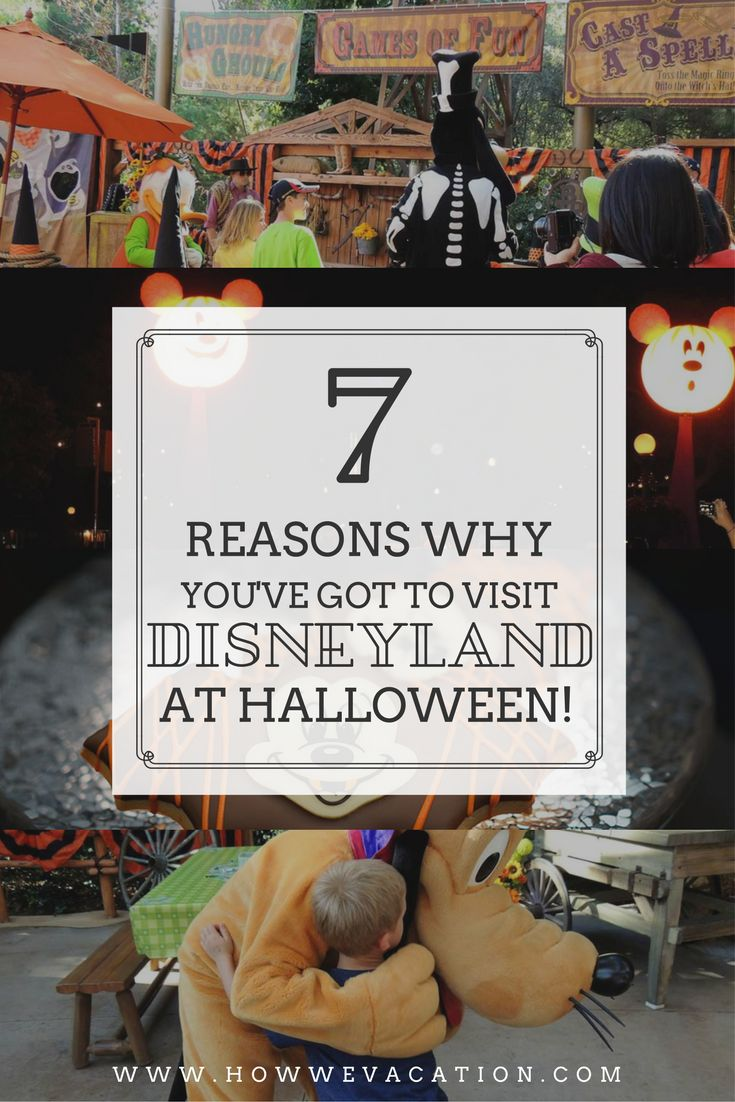 From trick or treating to a special parade, Halloween really is a great time to visit Disneyland!