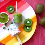 PeaWee Kiwi Pops.. This site has a ton of recipies for babies and toddlers as well as ideas for school lunches and family meals :)