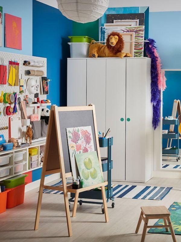 Mala Ritstativ Barrtra Vit Ikea Ikea Griffeltavla Kreativitet