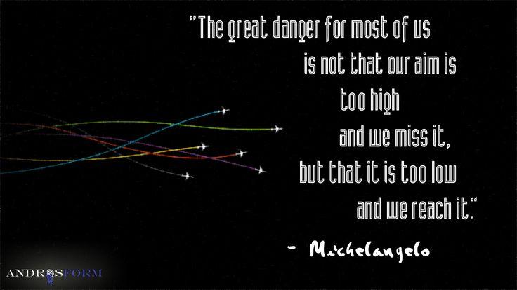 Aim High. Dream Big. #quote AIM HIGH, WORK HARD, BEEEE