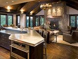 Bear with me, several photos to get the idea across. Eclectic Kitchen - contemporary - kitchen - minneapolis - by John Kraemer & Sons