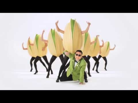 """""""Wonderful Pistachios"""" TV commercial - with Psy http://www.youtube.com/user/wonderfulpistachios?v=rE6iiiDdTNY#"""