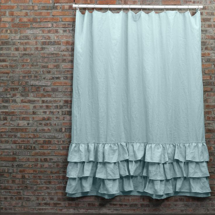 Best 25 Ruffle Shower Curtains Ideas On Pinterest White Ruffle Shower Curtain Girl Bathroom