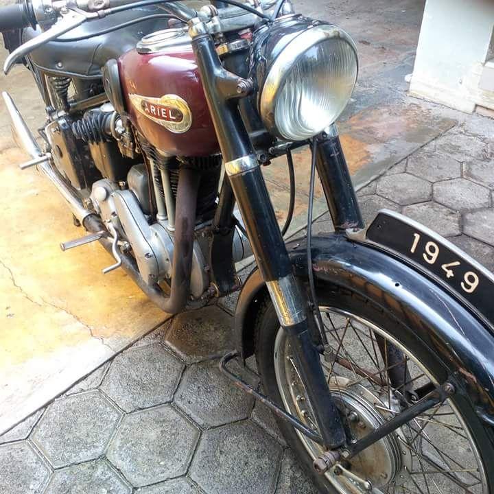 Lapak Motor Klasik Ariel VH500 Th.1949 - BANDUNG - LAPAK MOTOR BEKAS | MOTKAS