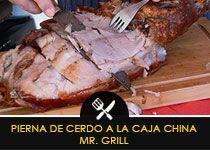 Mr Grill - RECETAS Y TIPS CAJA CHINA