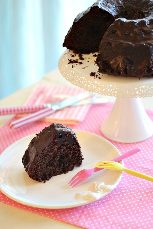 Chiarapassion: Torta al cioccolato ed amarene: Otello di Knam