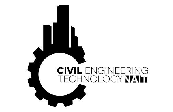 NAIT Civil Engineering Logo by Marty Phung, via Behance #inspiration #logo