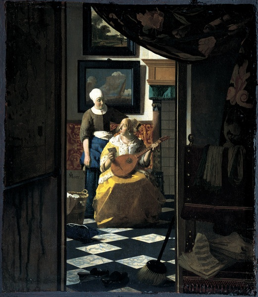 Vermeer, La lettera d'Amore #sospirosiconsigli