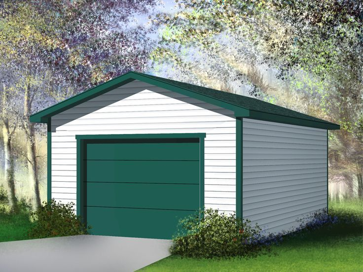 34 best garage plans with gambrel roofs images on for Simple 2 car garage plans