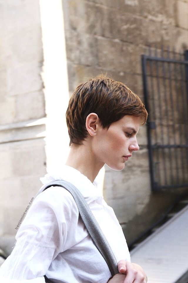 123 best images about Hair androgynous lesbian Dyke haircuts pixie hair Sho