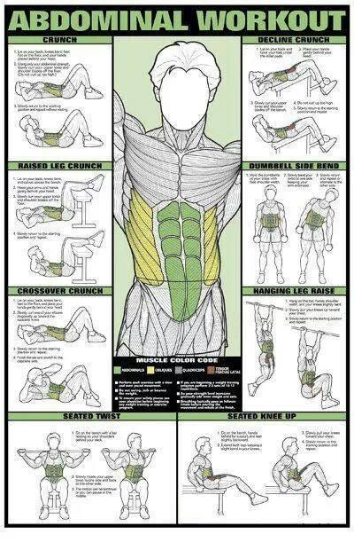 Abs Workout-these look like they won't hurt my back Post L4-5 Fusion!