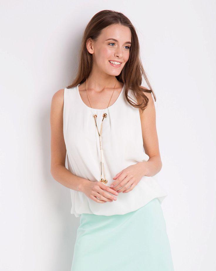 Блузка-топ жен. INCITY артикул 1.1.1.17.01.43.02702/110602 - купить женские блузки в интернет-магазине Инсити