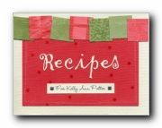 kevin & amanda's recipe scrapbooks
