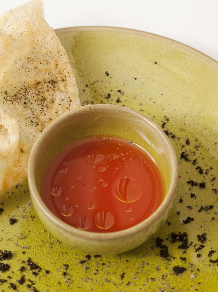 Spicy gazpacho by Agnar Sverrisson