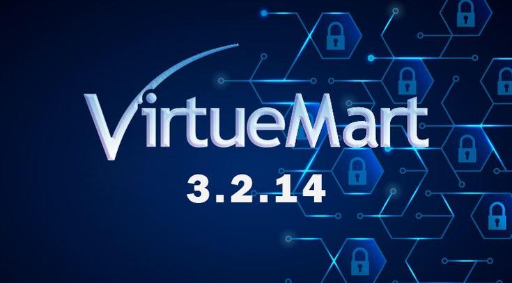VirtueMart 3.2.14 Release: Security Fixed and Invoice Handling Enhancement #VirtueMart #Joomla