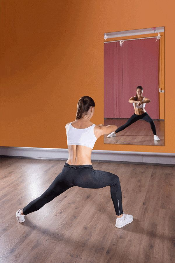 Best gym mirrors for gyms spas yoga studios images