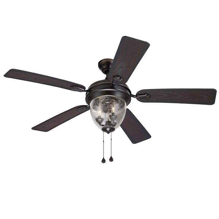 19 best fans images on pinterest ceiling fans with lights oil harbor breeze ellesmere 52 in oil rubbed bronze downrod or close mount indoor ceiling fan with light kit 40665 sciox Images