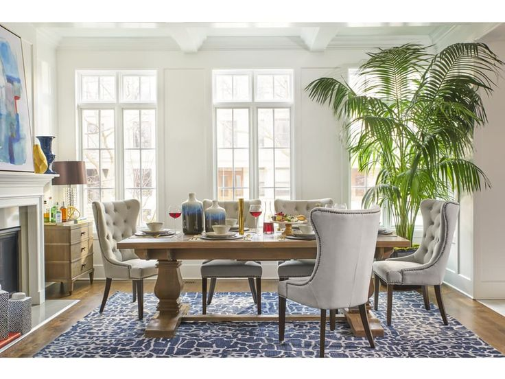 Jeff Lewis BRISTOW DINING ROOM from Walter E. Smithe Furniture + Design