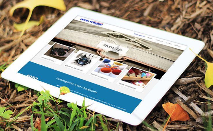 Layout strony nawiązuje do wieloletniej tradycji, jaką posiada ta rodzinna firma.