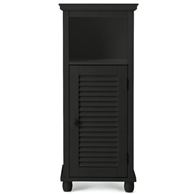 Louvered linen cabinet jcpenney bathroom ideas for Bathroom cabinets jcpenney