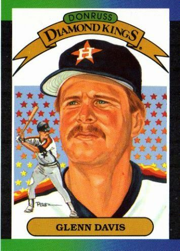 John's Big League Baseball Blog: Happy Baseball Birthday...Glenn Davis