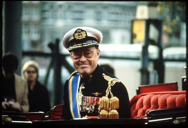 Archieffoto (exacte datum onbekend) van Prins Bernhard voor de Lockheed affaire. Naar aanleiding van zijn betrokkenheid in deze affaire in 1976 mocht de prins in het openbaar geen militaire uniformen meer dragen. ANP FOTO/BENELUXPRESS