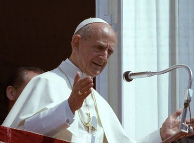 The Holy See ~~~  Beatification of Pope Paul VI.  Blessed Paul VI  Pray for us.