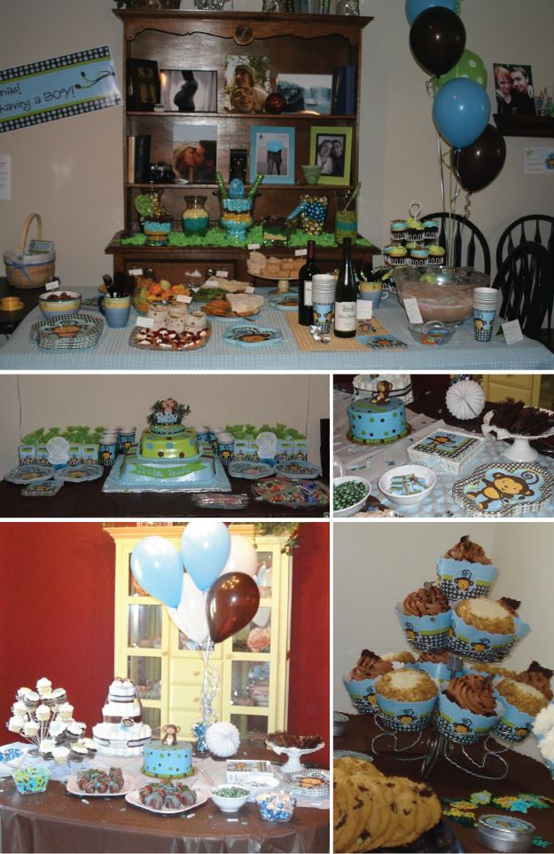 have some fun with monkey boy baby shower ideas big dot of happiness baby shower ideas