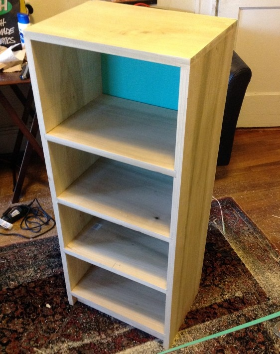 How To Make A Bookshelf Crafty Junk Pinterest How To