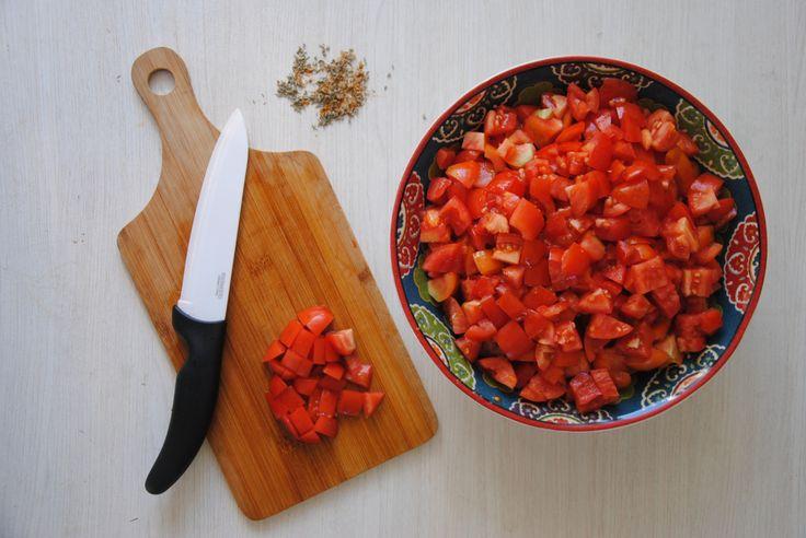 Délicieuse confiture de tomates rouges