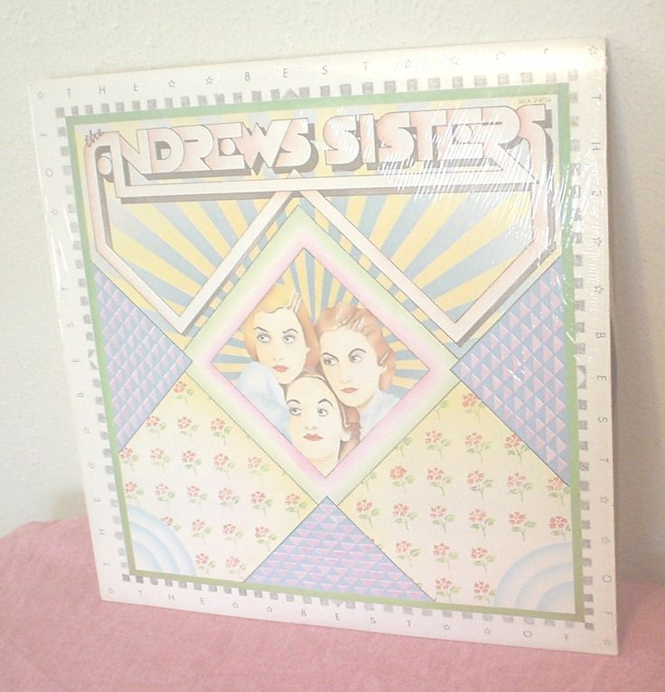 Vintage The Best of the Andrews Sisters MCA 2-4024 Vinyl Album Rum and Coca Cola Sonny Boy I Will Be With You In Apple Blossom Time EC BIN by HerOptionsforYou on Etsy