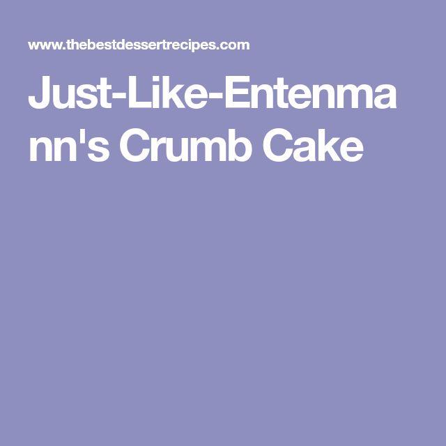 Just-Like-Entenmann's Crumb Cake