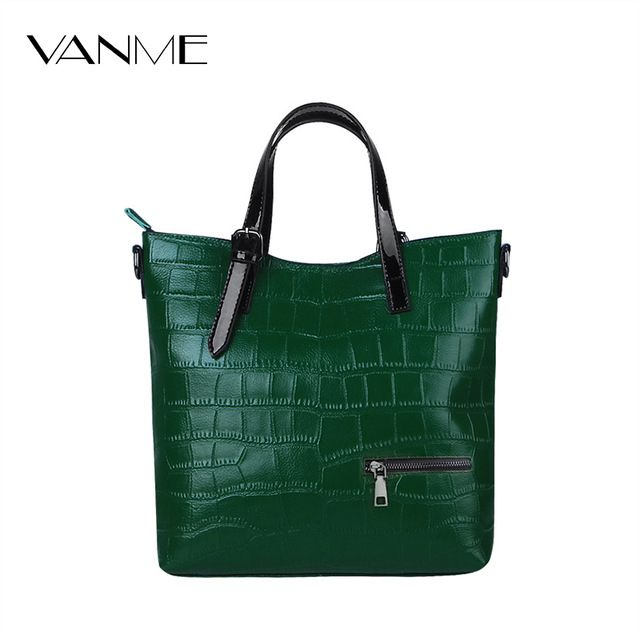 Good price Big Sale Women's Genuine Leather Handbags Fashion Black Leather Shoulder Bag Women Big Bags Purse Cheap Messenger Bags for Gift just only $45.70 with free shipping worldwide  #womanshoulderbags Plese click on picture to see our special price for you