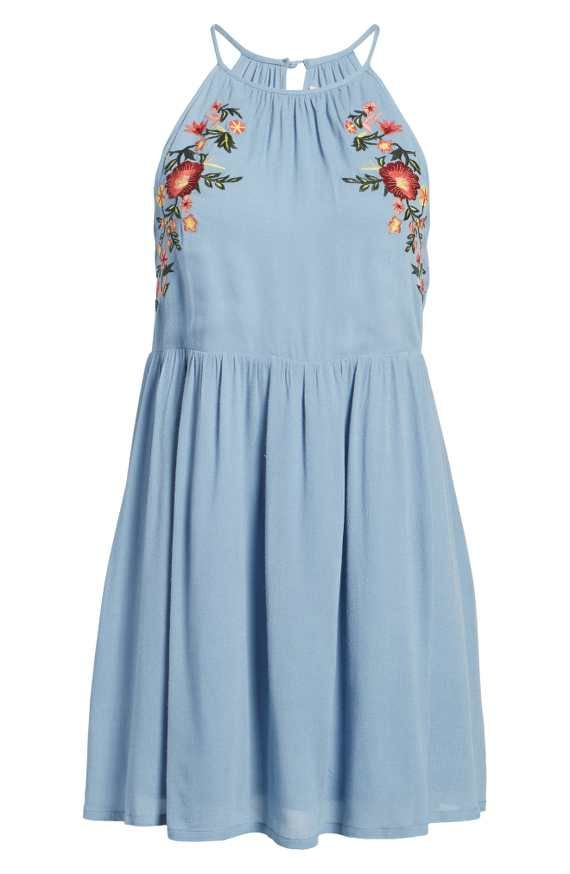 Embroidered Apron Dress from Nordstrom (this is an affiliate link)