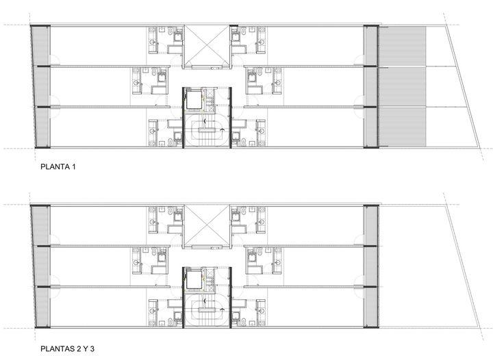 Galería - Edificio 3DF 2760 / KLM Arquitectos + Proyecto C Arquitectos - 16