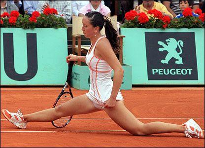 Jelena jankovic lamborghini upskirt
