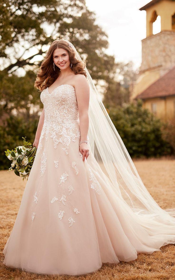 57 best Plus size wedding dress || The Bridal Boutique by MaeMe ...