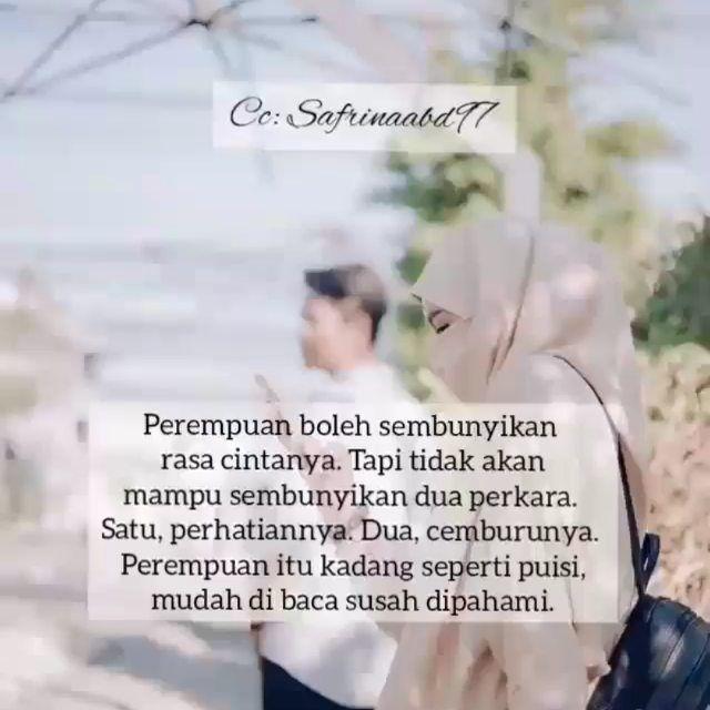 Motivasi Cinta Islam Di Instagram Perempuan Memang Mudah Cemburu