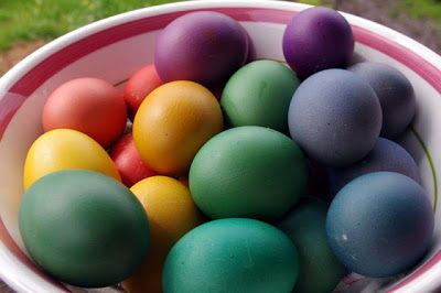 Dying Brown Eggs - excited to try this with our backyard chicken eggs and think the richer color looks gorgeous!