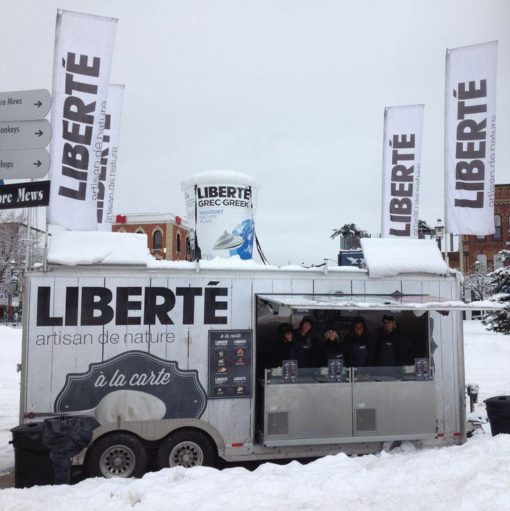 La tournée continue, même en hiver! - We continue our tour, even in winter! Ontario, Barrie Winterfest 1-02-2014