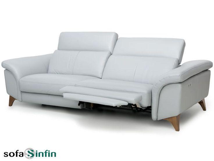 Sofá relax de 3 y 2 plazas modelo Samira fabricado por Losbu en Sofassinfin.es