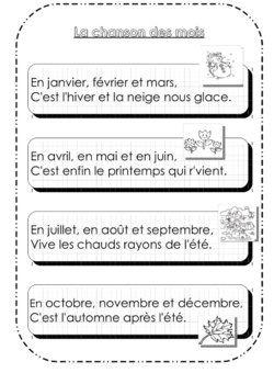 5 idées sur les saisons - Dix mois
