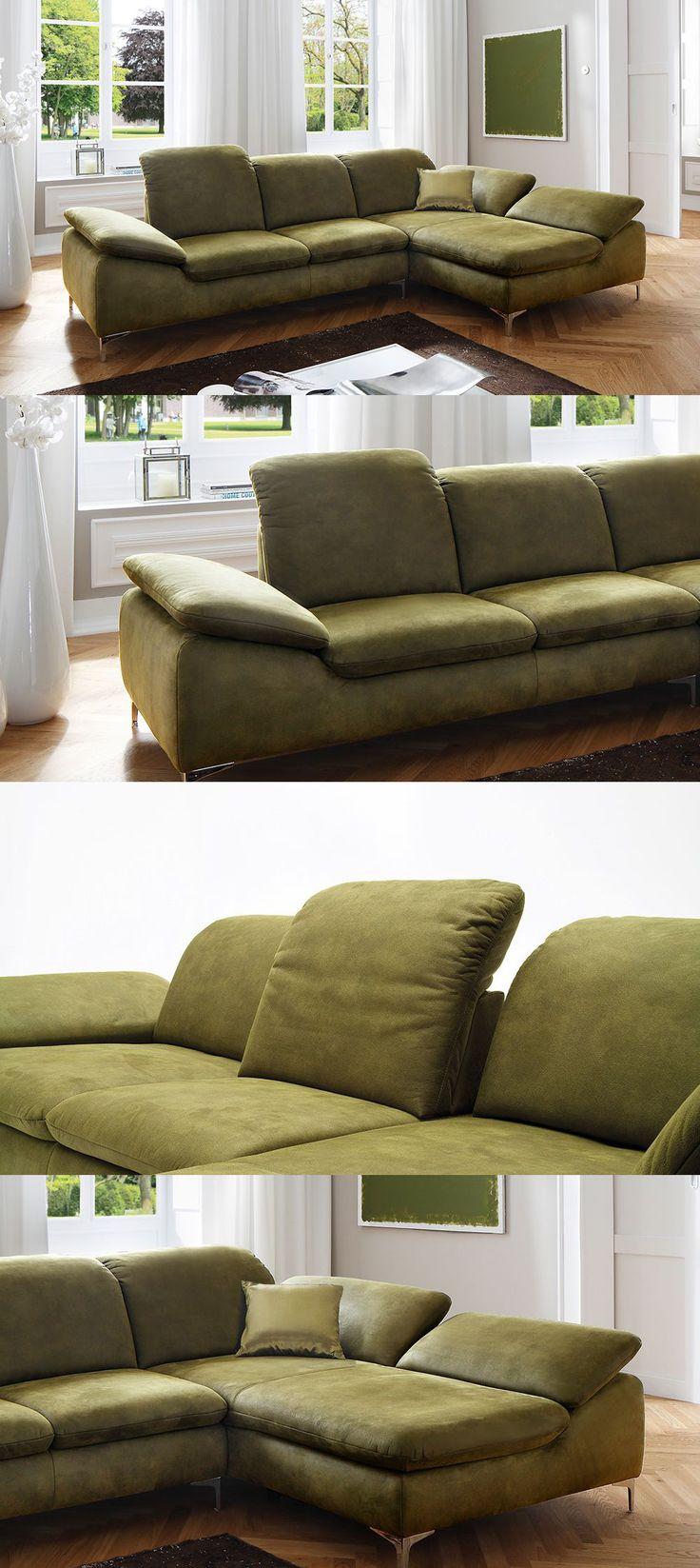 grünes Ecksofa Patarra | Bietet dir eine Wohlfühloase der Extraklasse mit vielen Relaxfunktionen und bequemer Polsterung. #Candy #grün #Sofa #MoebelLETZ