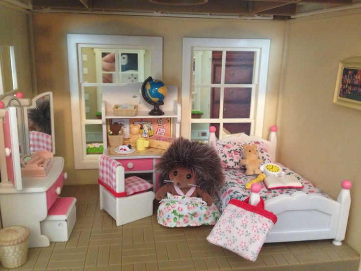 Calico Critters Sylvanian Families Girl S Bedroom