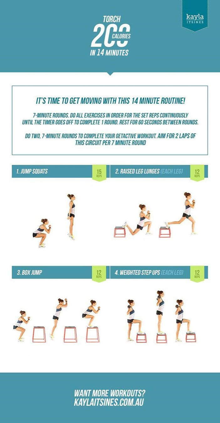 Kayla Itsines' 14-Minute Workout That Will Torch 200 Calories