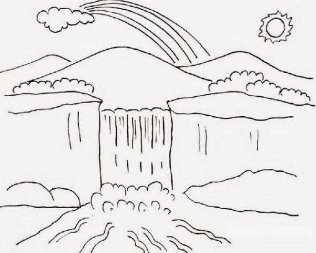 10 Contoh Gambar Pemandangan Di Talenan 60 Gambar Mewarnai Seru Bagus Dan Mudah Untuk Anak Lengkap Downloa Di 2020 Easy Drawing Tutorial Buku Gambar Buku Mewarnai